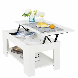 Sensational Details About Coffee Table For Living Room Large Lift Up Hard Storage Shelf Furniture White Ibusinesslaw Wood Chair Design Ideas Ibusinesslaworg