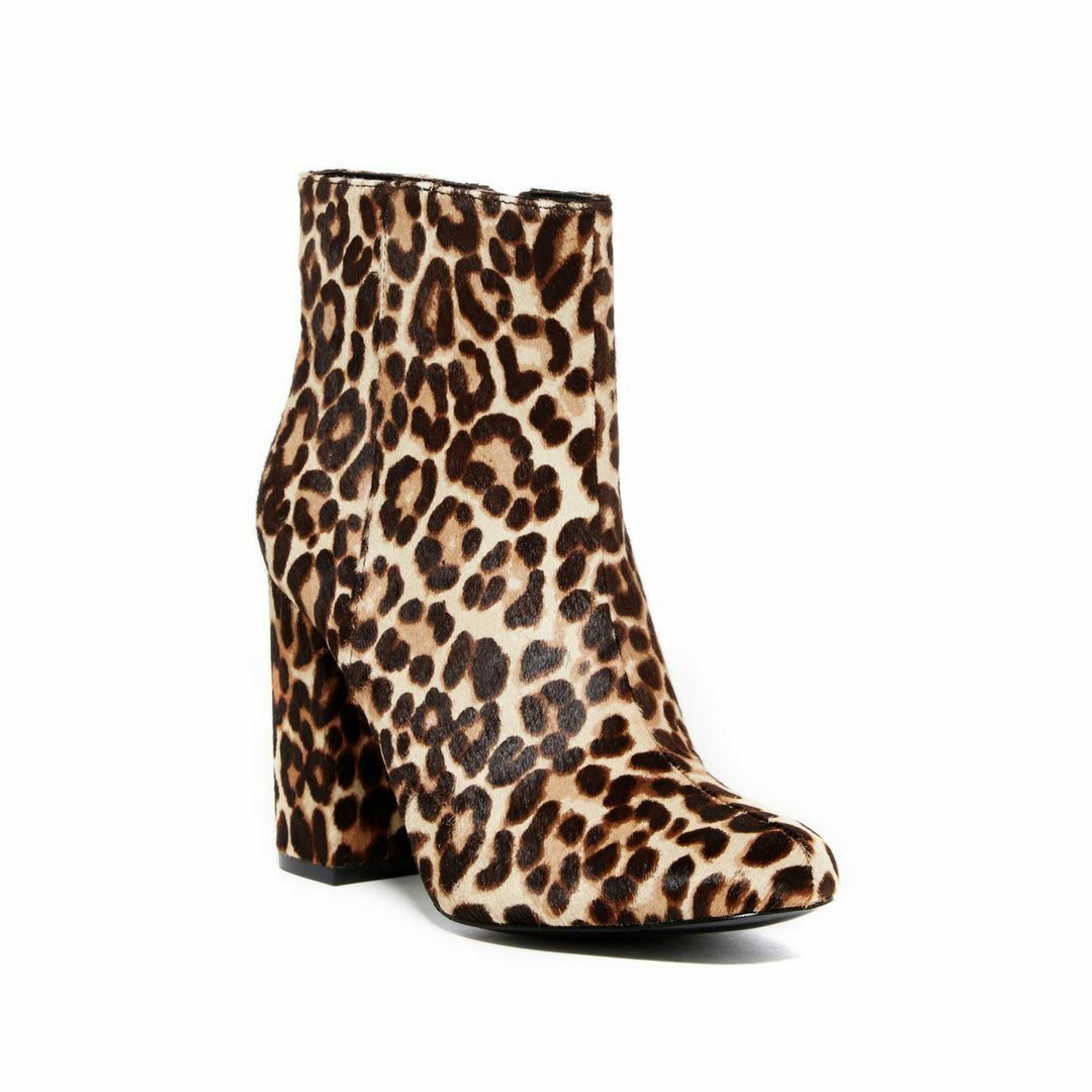 CHARLES DAVID Größe  Leopard Studio Calf Hair Ankle Booties Größe DAVID 6.5 269 NEW b5c489