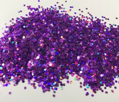 Glitterexpress NEW PVC Holographic Glitter Blue, Green, Lavender 1kg Bags