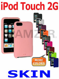 AMZER-Soft-Silicone-Skin-Jelly-Case-Gel-Ultra-Thin-Cover-For-Apple-iPod-Touch-2G