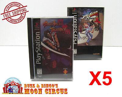 Slim Sized Games PlayStation 1 Game Holder
