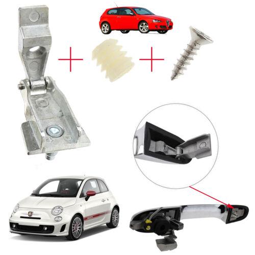 FIAT 500 ALFA 147 Kit De Réparation Poignée de porte extérieur51964555 51939041