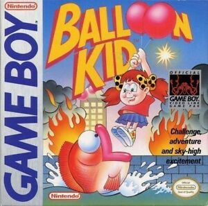 Nintendo-Gameboy-juego-Balloon-Kid-modulo-con-Inst
