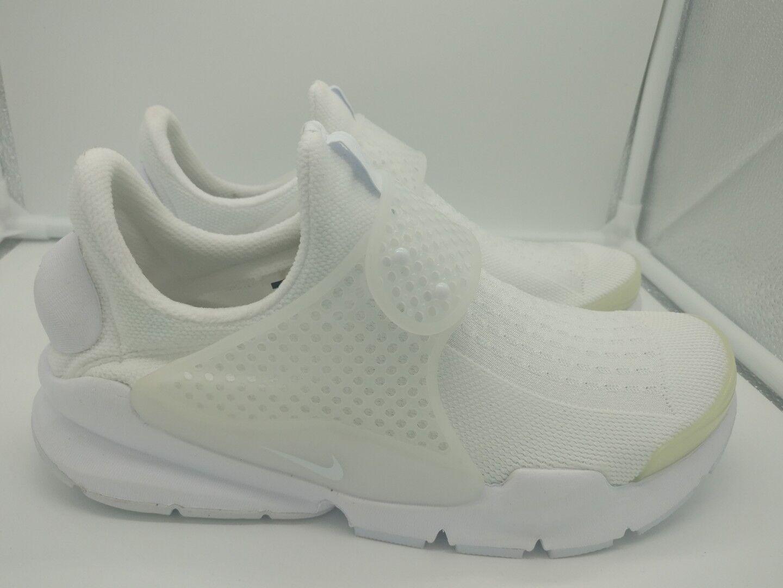 Gran descuento Calcetín de Nike Dart kjcrd Reino Unido 12 Blanco Blanco Negro 819686100