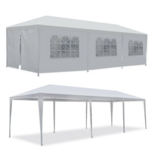 10-039-x30-039-White-Outdoor-Gazebo-Canopy-Wedding-Party-Tent-8-Removable-Walls-8