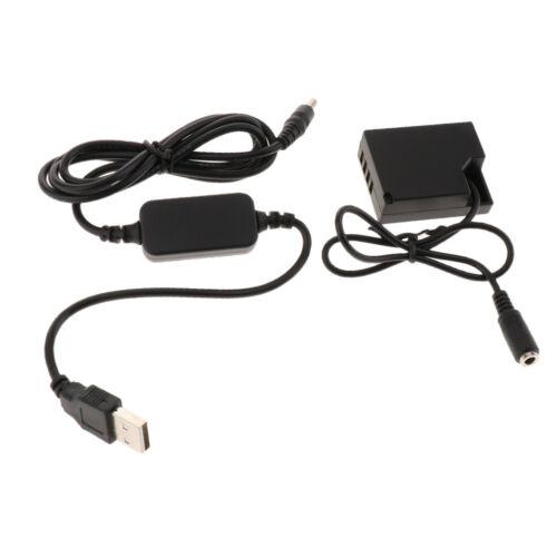 CP-W126 DC Coupler Cable for Fuji X-A2 X-A3 X-E2 X-E2S X-M1 X-Pro1 X-Pro2