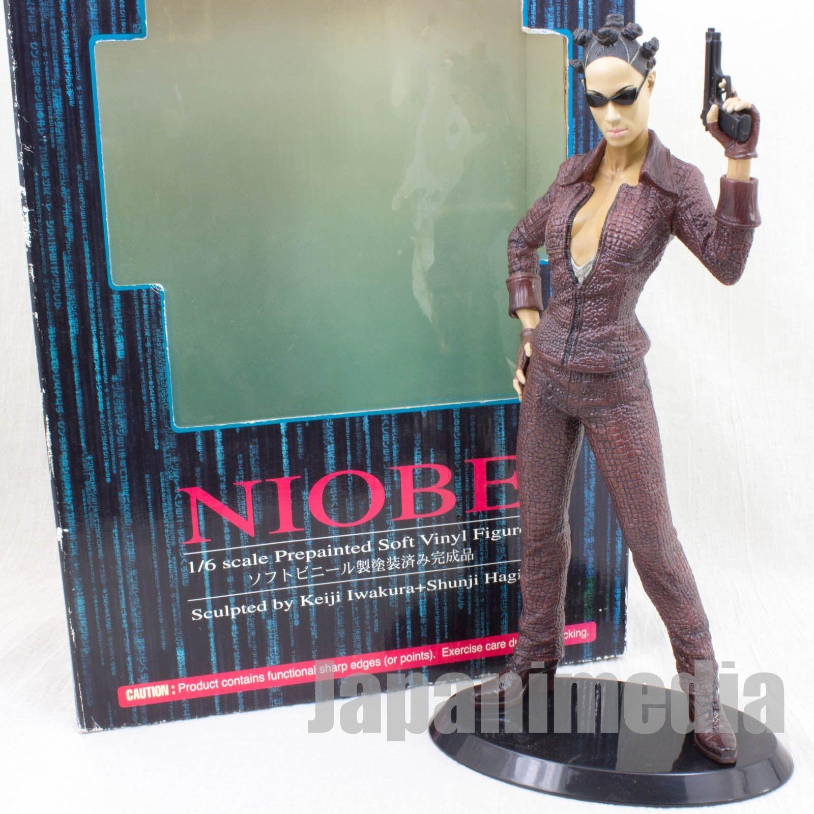 Matrix Reloaded NIOBE 1 6 PVC Figure Artfx Kotobukiya JAPAN