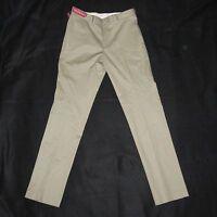 Merona Mens Slim Fit Suit Pant Vintage Khaki 34 X 30 With Tags