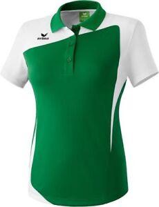 Erima-Damen-CLUB-1900-Poloshirt-Teamsport-T-Shirt-Polo-Shirt-Freizeit-Kurzarm
