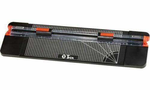 DIN A4 schwarz rot TWEN Rollen-Schneidemaschine RS 4522