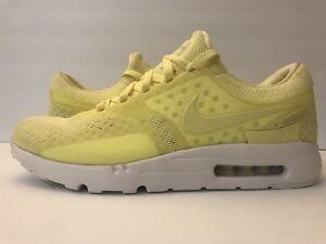 size 40 af765 99a51 Details about Nike Air Max ZERO BR Breathe Lemon/Chiffon/Yellow/White  903892-700 Sz 13