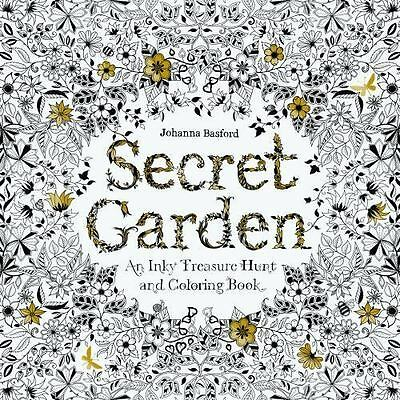 - Secret Garden : An Inky Treasure Hunt And Colouring Book By Johanna Basford  (2013, Trade Paperback) For Sale Online EBay