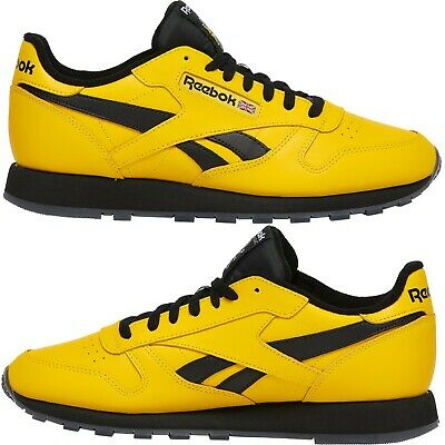 Reebok Classic Leather Yellow/Black