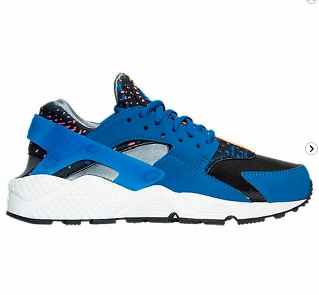 Nike Air Running huarache Run Print mujer Running Air zapatillas 6.5 reducción de precio 03d458