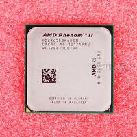 AMD Phenom II X4 965 3.4 GHz Quad-Core CPU Processor HDZ965FBK4DGM Socket AM3