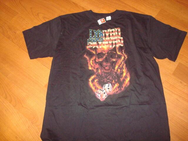 LYNYRD SKYNYRD DICE    DEADSTOCK shirt Size MENS 2XLT  XXL t-shirt
