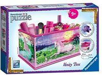 Ravensburger My 3D Boutique Unicorns Vanity Box Girls 216pc 3D Jigsaw Puzzle Toy