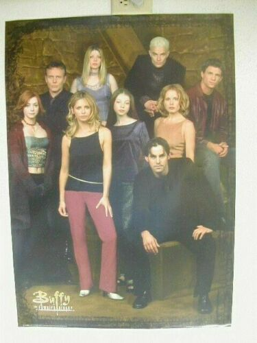 "Buffy The Vampire Slayer Cast Poster 16/""x24/"""