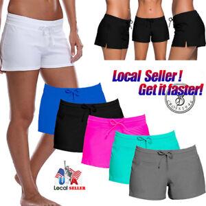 c54377a14d4973 Women's Swim Shorts Tankini Bottom Bikini Sport Yoga Board Shorts ...