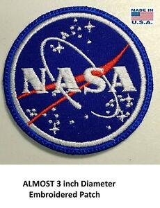 LOVE-IT-OR-ITS-FREE-NASA-EMBROIDERED-PATCH-IRON-ON-FREE-SHIPPING