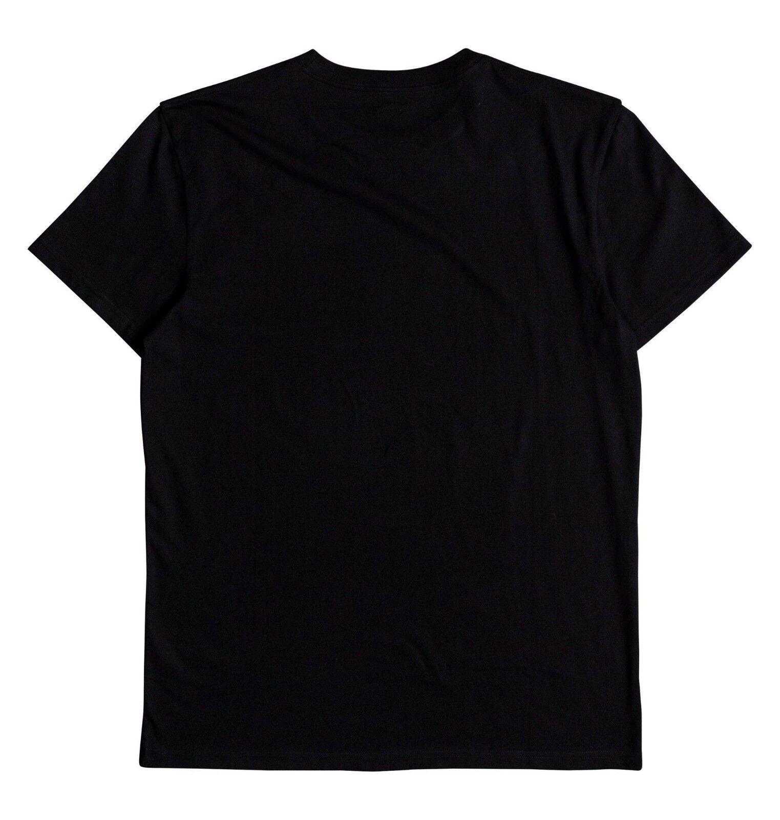 DC Chaussures Homme T Shirt. Nez Noir Coton Manches Courtes Coton Noir Skate Top Tee 8 W 34 KVJO d85ee3