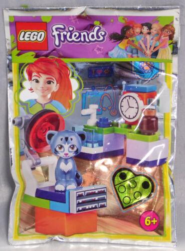 Lego Friends Promo Polybag 561805 Katze Chico in der Tierklinik NEU Sealed RAR