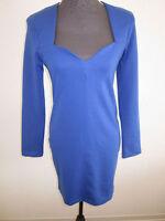 Neues Kleid von NLY TREND Gr.M Blau mit raffienierrten Ausschnitt  NEU/OVP