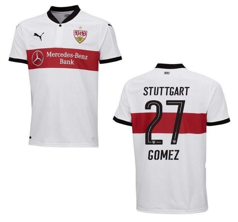 Trikot Puma VfB Stuttgart 2017-2018 Home - Gomez Gomez Gomez 27  1893 148ee9