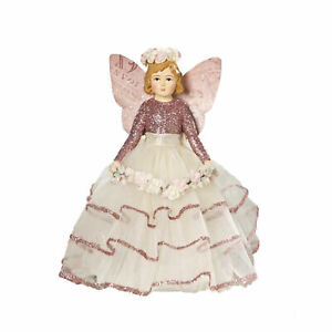 Bethany Lowe Spring Fairy Girl Child Dress Easter Figurine Home Decoration