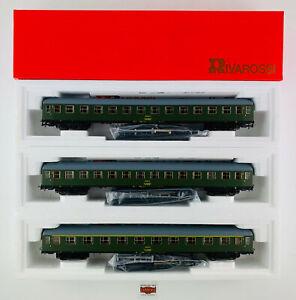 RIVAROSSI-H0-3659-60-61-LOTE-3-COCHES-8000-RENFE-1-2-CL-NUEVO-TOP