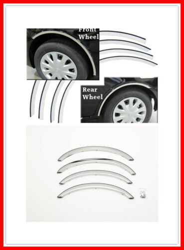 """For 91-97 Ford Grand Marquis 2/"""" Stainless Steel Fender Flares Trim Bezel Accent"""