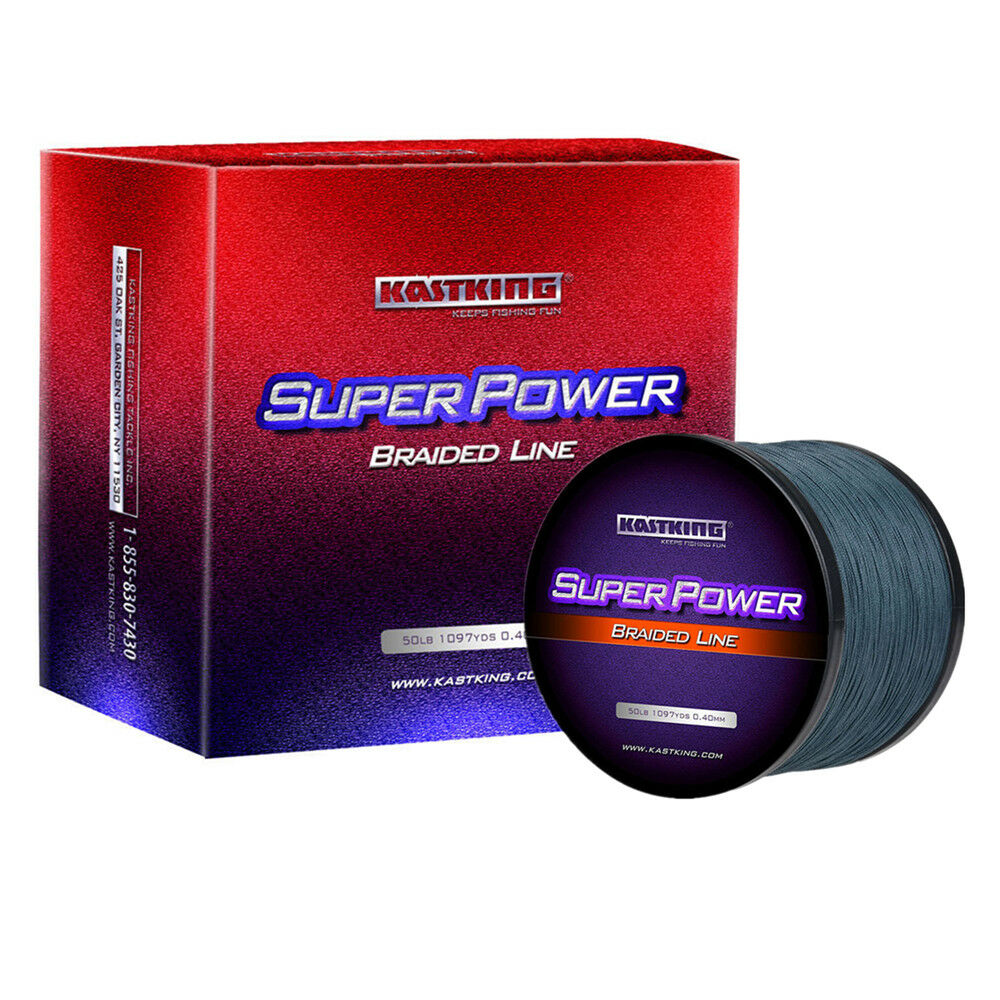 KASTKING SUPERPOWER  BRAIDED FISHING LINE – INCREDIBLE SUPERLINE  the latest
