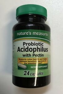 Image Is Loading Nature 039 S Measure Probiotic Acidophilus W Pectin