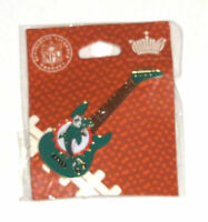 Miami Dolphins Guitar Pin Hat Lapel Nfl Football Vintage