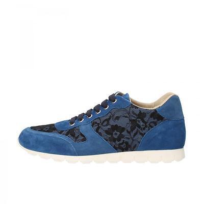 K852 AND SON zapatos mujer slip on blu-36,blu-37,blu-38,blu-39,blu-40,blu e blu