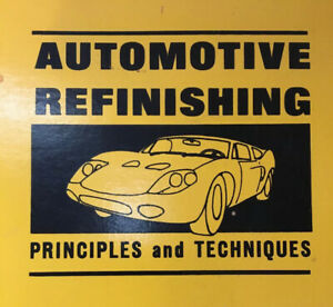 Automotive-Refinishing-Principles-and-Techniques-W-T-Hobson-1969-First-Edition