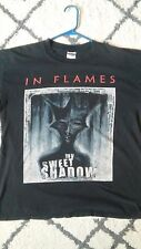 In Flames my sweet shadow T shirt L Large Metal Rock Band