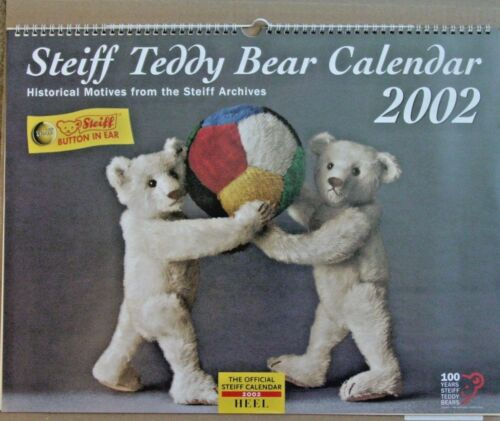 Steiff - 2004 Teddy Bear Calendar - Pictures Great for Framing