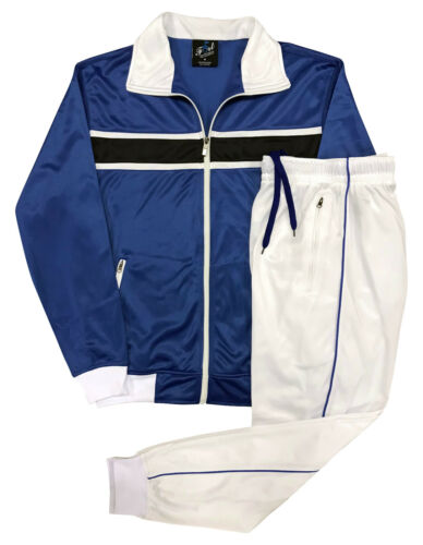 Men's Athletic Active wear Tracksuit GYM Track jacket Track pants outfit