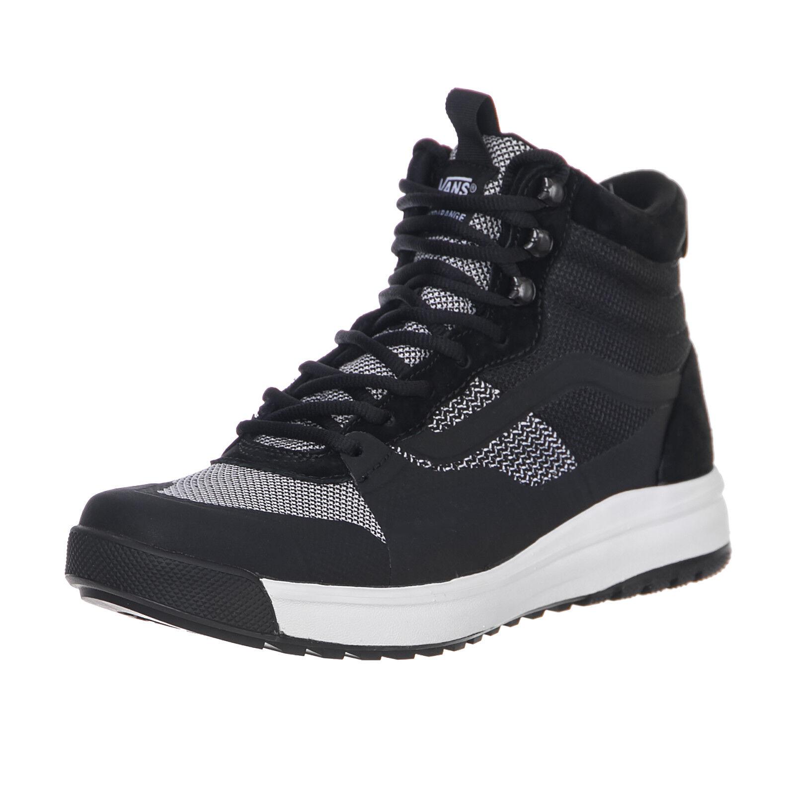 Vans zapatillas Ua Ultrarange Hi Dx (Yc Knit) Bl negro