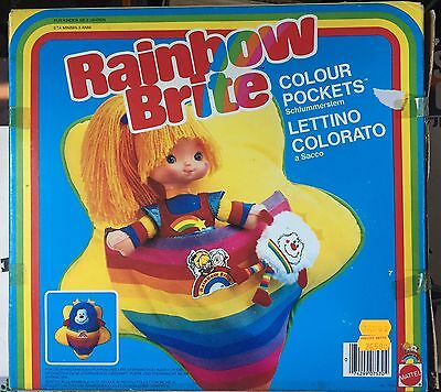 Able Rainbow Brite Iridella Mattel Farbe Kinderbett Bunte New Perfect Aromatic Character And Agreeable Taste Sonstige