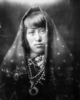 8x10 Native American Photo: Acoma Indian Woman, North American Indian - 1905