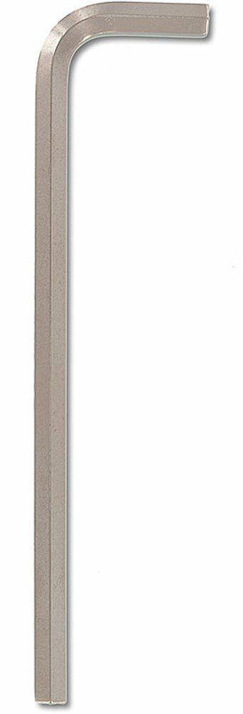Bondhus 27180 12mm Hex Tip Key L-Wrench with BriteGuard Finish, 10 Piece