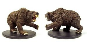Dire Bear - Rise of the Runelords 38/65 Pathfinder Battles D&D Miniature Mini