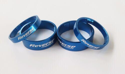 "Reverse Spacer Set Light Rouge Bleu Or Violet Noir Vert 4 Pièce de 1 1//8/"" A-Head"