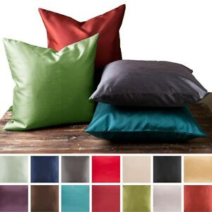 2-Piece-Euro-Shams-Cover-Case-Decorative-Pillow-Zippered-Closure-MANY-MORE-Color