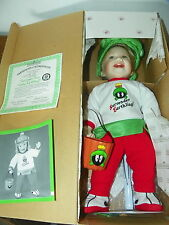 ASHTON DRAKE Looney Tunes Little Martian Costume Porcelain Doll     O6