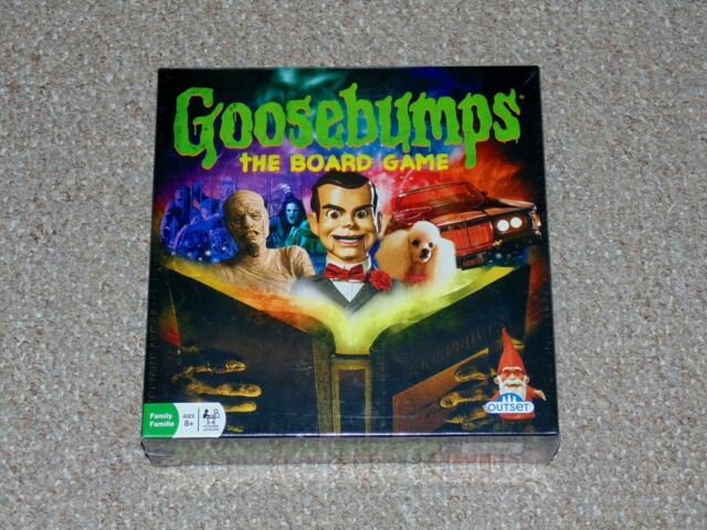 2015 Outset Goosebumps The Board Game Brand New Factory Sealed