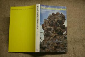 Sammlerbuch-Gesteinsbestimmung-Mineralogie-Gesteinskunde-Minerale-DDR-1984