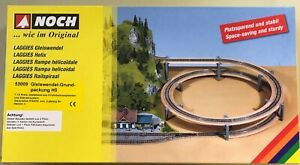 NOCH-53009-Gauge-H0-Laggies-Track-Spiral-Base-Circle-New-Boxed